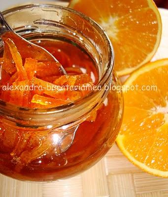 O poveste de dragoste…culinară: dulceaţa de coji de portocale