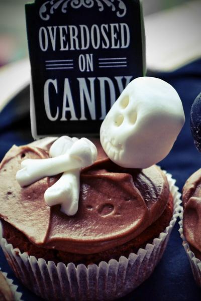 Cupcakes ciocolatosi si un Halloween pe masura