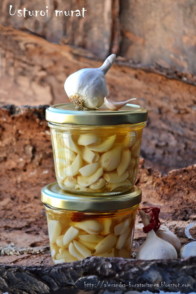 [:ro]Usturoi murat – în vin alb și sec[:]