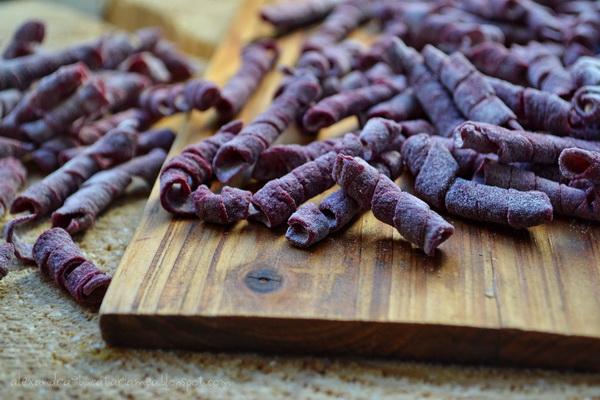 Paste roșii … homemade… cu sfeclă … umplute