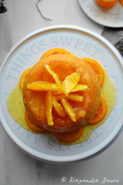 Budincă aburită de portocale și un Crăciun Fericit