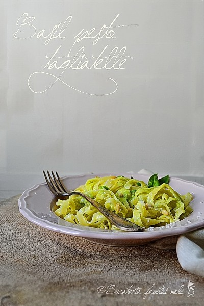 Basil Pesto Tagliatelle