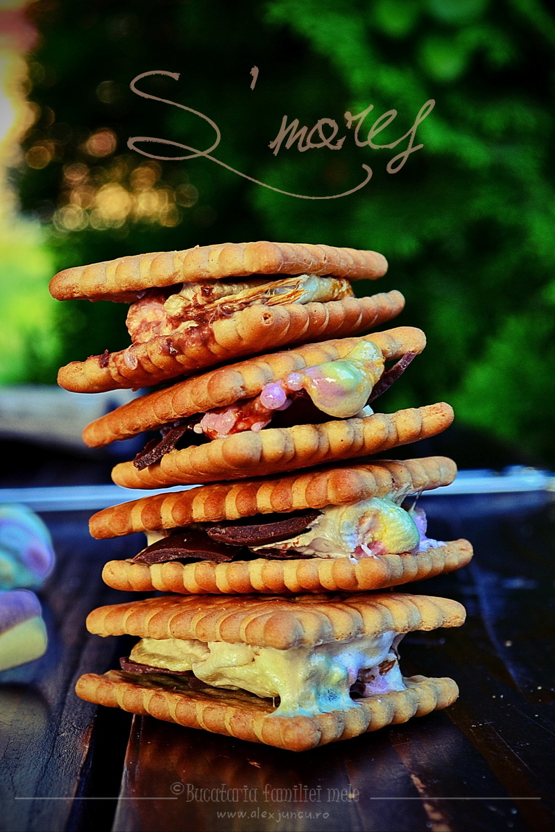 s'mores tower