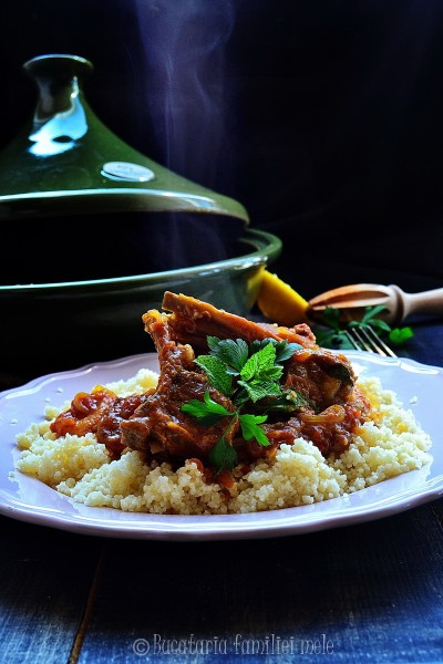 Moroccan lamb tagine with apricots