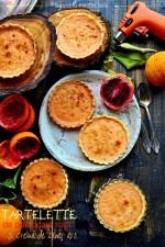 Blood Orange Brulee Tartelette