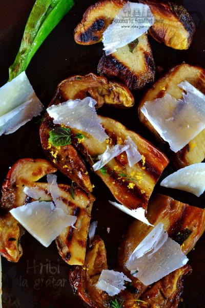 grilled porcini
