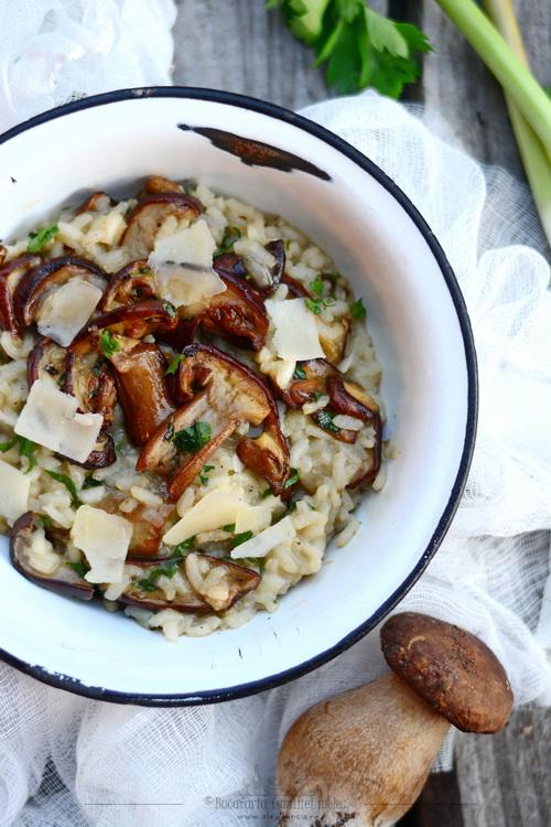 risotto con porcini