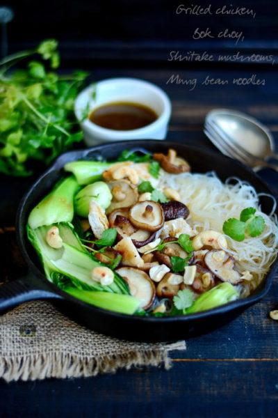 Mung bean noodles