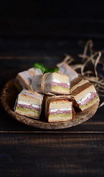 Sandwich-uri presate pentru picnic – Pressed Italian Picnic Sandwiches
