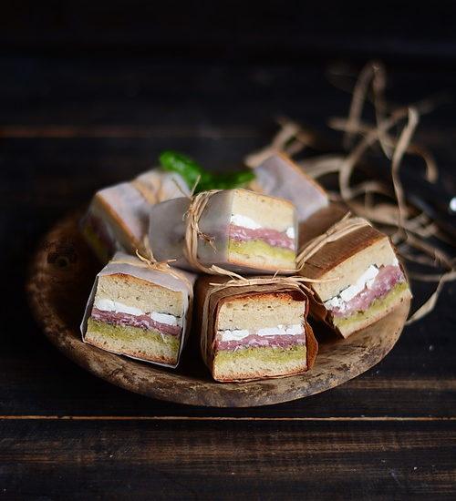 Sandwich presat pentru picnic – Pressed Italian Picnic Sandwiches