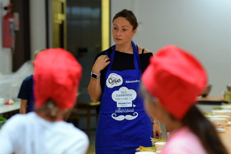 Atelier de gatit pancakes Alexandra Juncu
