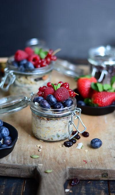 Ovăz, nuci și fructe de pădure – CONCURS – Sanovita și Heinner