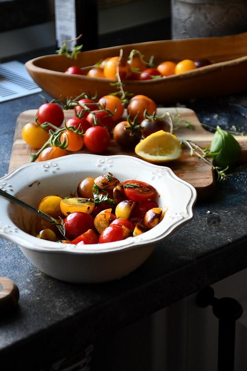 Salată de roșii de grădină