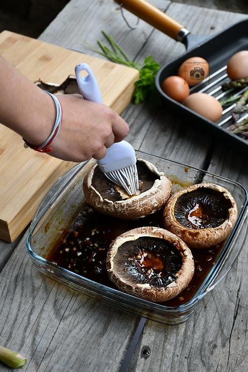 Ciuperci portobello marinate - bucătăria familiei mele - alex juncu