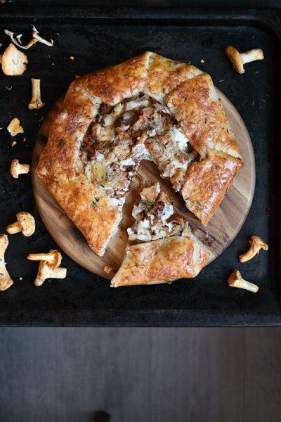 galette cu bechamel si ciuperci- Bucătăria familiei mele - Alex Juncu