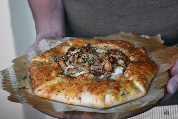 galette cu ciuperci- Bucătăria familiei mele - Alex Juncu