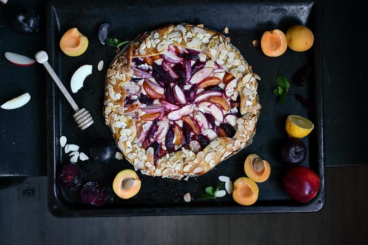 galette cu fructe si mascarpone-Bucătăria familiei mele - alex juncu