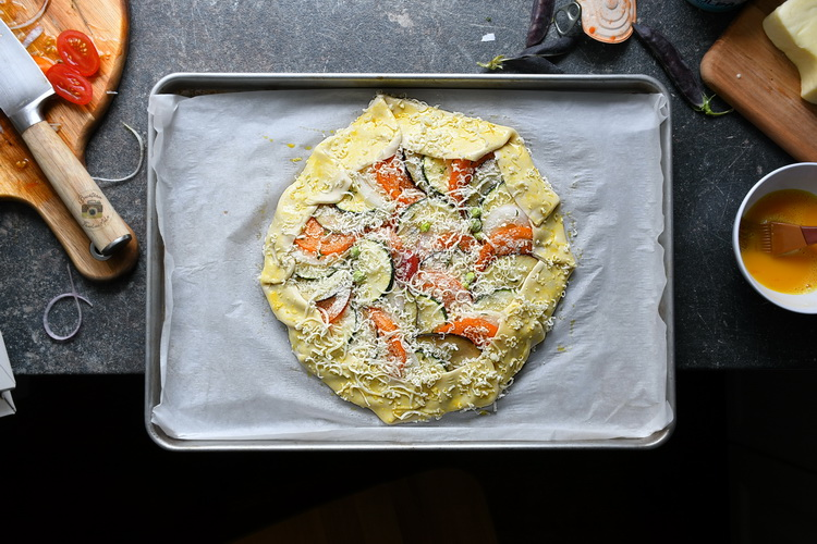 plăcintă Ratatouille - bucătăria familiei mele - alex juncu